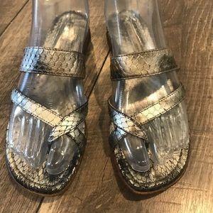 Authentic Vtg Manolo Blahnik Leather Sandals 6.5